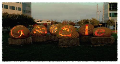 Google's Jack-O-Lantern Logo for Halloween