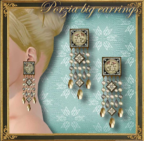 PORZIA big earrings