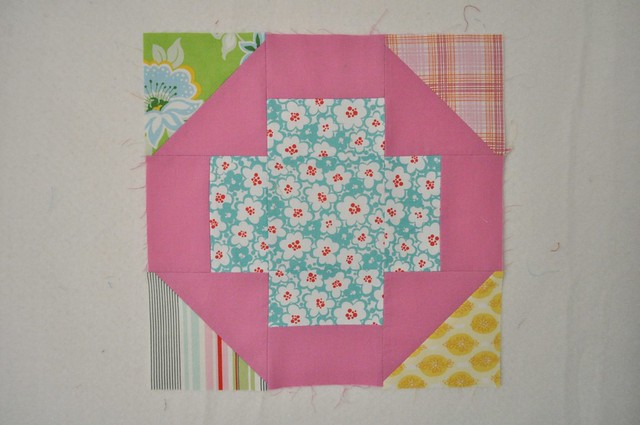 do. Good Stitches - Oct Harmony block