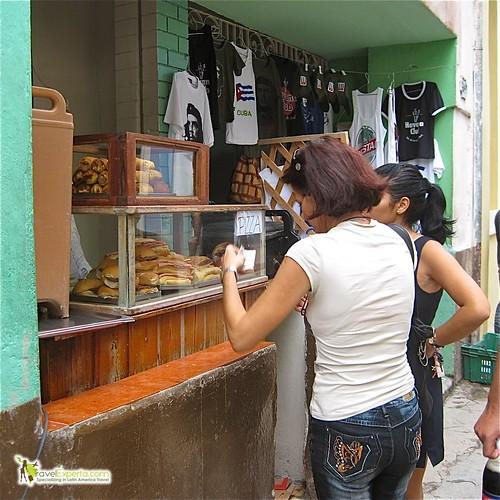 Local Street Vendors - Havana Vieja - Cuba