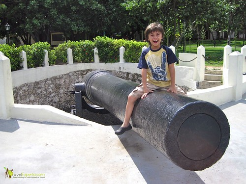 Canon at National Hotel of Cuba