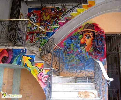 Murals and Artwork in Cuban Lobbies