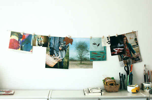 Autumn inspiration wall