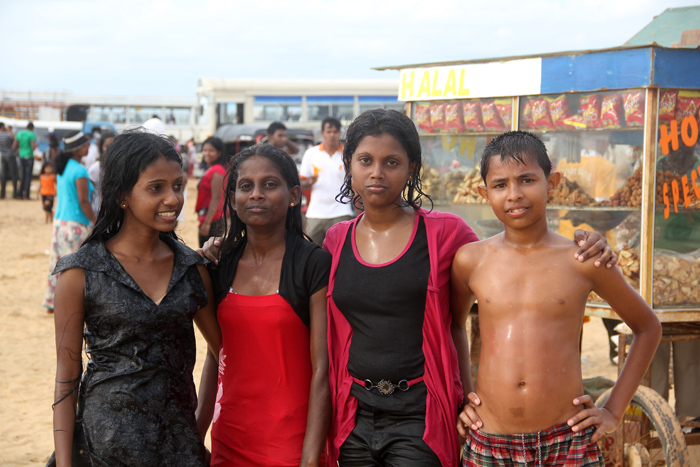 Kids Playing at Negombo Beach, Negombo, Sri Lanka