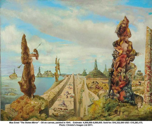 "Max Ernst - ""The Stolen Mirror"" by artimageslibrary"