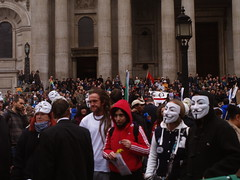 November 5, 2011: Occupy LSX @ St Paul's Cathedral by nick.hider