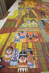 The Grand Canyon Concourse Mural (Sam Howzit) Tags: southwest art tile design 1971 mural florida indian disney 1970s waltdisneyworld 4thfloor fourthfloor contemporaryresort maryblair nativeamerica grandcanyonconcourse