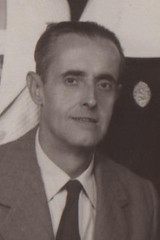 Bernardino del Pino Torres, en una fotografía de los años 50
