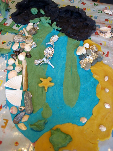playdough recipe seaside theme