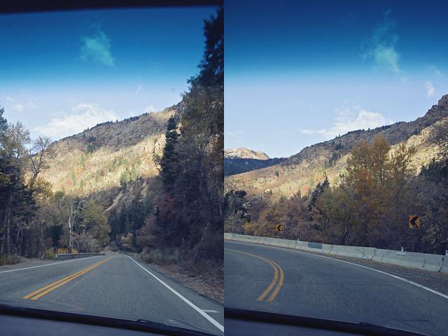 Salt Lake City canyon diptych 3