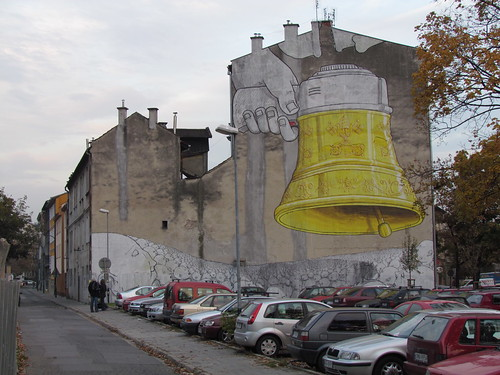 Mural by Blu in Krakow