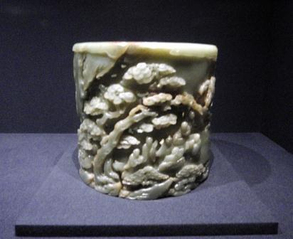 figurka z jadeitu