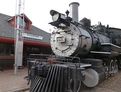 Engine 683 c. 1890 was originally 583 (Patricia Henschen) Tags: depot drg goldenco coloradorailroadmuseum riogranderr denverriograndwesternrr