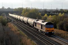 60024 near Water Orton (robmcrorie) Tags: water train hall rail railway loco trains class oil locomotive enthusiast lindsey tug railways railfan freight 60 warwickshire orton dbs hams ews 60024 6e41 westerliegh