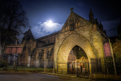 830/1000 - St Johns at Night by Mark Carline