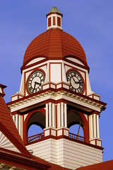 Gibson County Courthouse Clock Tower detail - Trenton, TN (SeeMidTN.com (aka Brent)) Tags: clock tn tennessee clocktower courthouse trenton 1901 countycourthouse gibsoncounty bmok