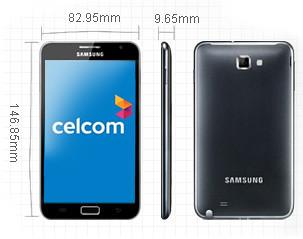 6344310306 acbec65fb6 Plan Celcom Executive Samsung Galaxy Note  dari serendah  RM 1,368