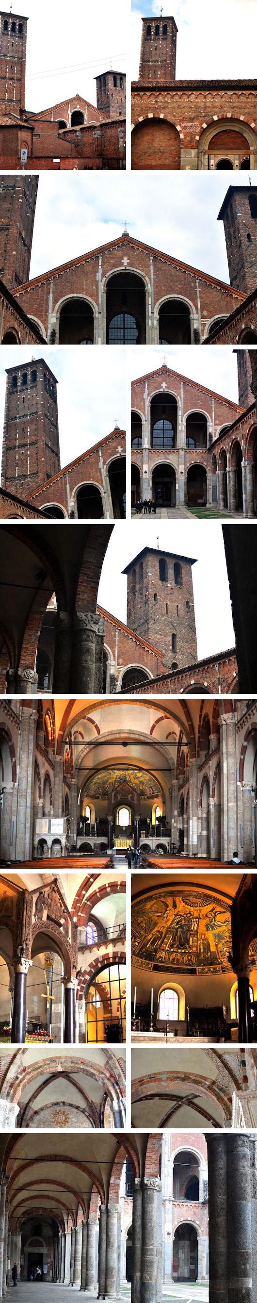 Milan 11.5.2010_Basilica of Sant' Ambrogio