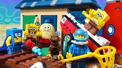 Day 320 (chrisofpie) Tags: chris pie monkey lego doug legos hero heroes minifig roger minifigure bluehat legohero chrisofpie rogeranddoug 365legos dougthechimp