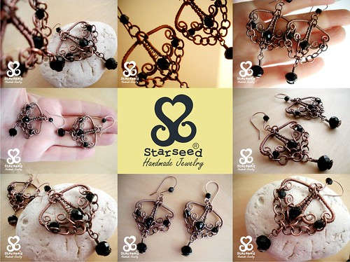 Beearice Earrings by starseedesigns