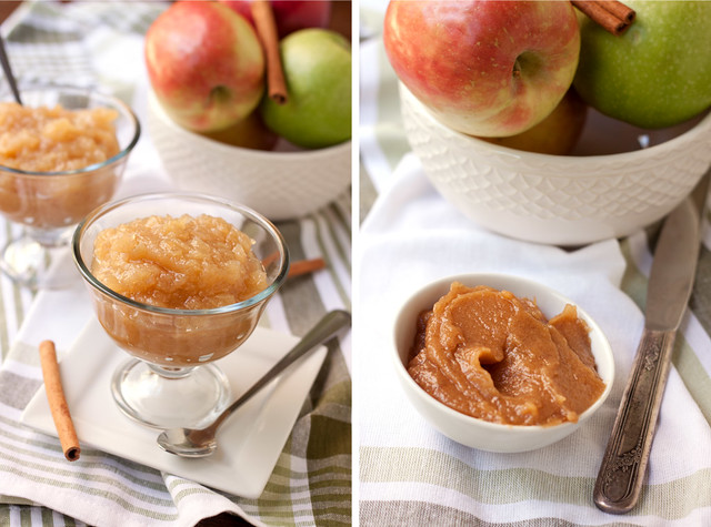 Maple Applesauce & Apple Butter