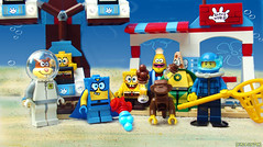 Day 321 (chrisofpie) Tags: chris pie monkey lego doug legos hero heroes minifig roger minifigure bluehat legohero chrisofpie rogeranddoug 365legos dougthechimp