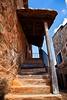 Subida (67º EXPLORE - 18-11-2011) (Jose Casielles) Tags: color rustico luces madera pueblo escalera sombras yecla piedra castrillodelospolvazares fotografíasjcasielles