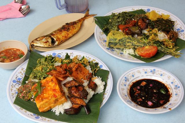 Nasi Campur - Malaysian Food