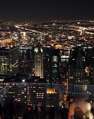 Skyline Manhattan (Ines Schaefer Photography LLC) Tags: nyc newyorkcity ny newyork skyline night lights manhattan citylights topoftherock