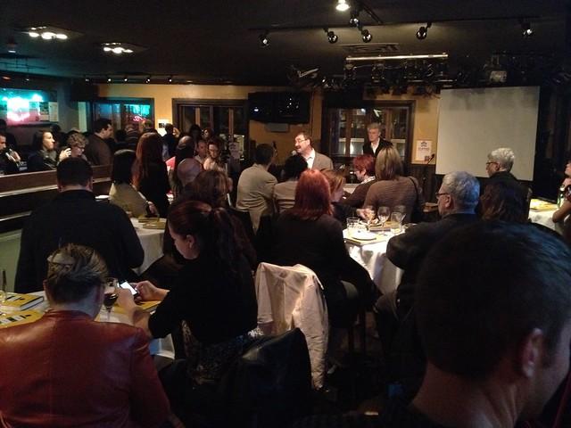 Joe Thornley introduces Jeff Jarvis
