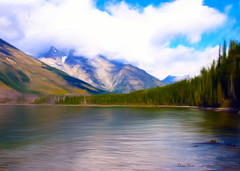 Teton area (DigiDi) Tags: lake painterly nature landscape nationalpark wyoming jacksonhole digidi tetonarea