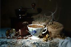 Coffee Time (Arunas S) Tags: autumn stilllife texture coffee stillleben time coffeecup watch stilleven stilleben baltic peugeot lithuania tabletop naturemorte arabica  naturamorta coffeegrinder naturalezamuerta coffeetime lietuva palanga  stonetable naturezamorta robusta   martwanatura asetelma cofeemill natiurmortas natrmort klusdaba etamvitae
