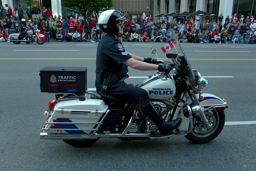 Police lors du Canada Day