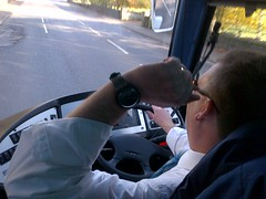 "Our driver was wearing a Swatch • <a style=""font-size:0.8em;"" href=""http://www.flickr.com/photos/60341780@N03/6376159191/"" target=""_blank"">View on Flickr</a>"