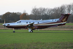 Pilatus Flugzeugwerke AG Pilatus  PC-12/47 G-WINT (Old Buck Shots) Tags: pilatus pc12 ag dm turboprop 830 singleengined pc1247 gwint pilatuspc1247 flugzeugwerke egsv airwinton pilatusflugzeugwerkeagpilatuspc1247gwint pilatusflugzeugwerkeag pilatuspc1247gwint cn830 n561gg