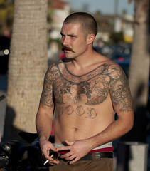 What we take for granted (San Diego Shooter) Tags: portrait tattoo sandiego streetphotography tattoos pacificbeach sandiegopeople sandiegostreetphotography