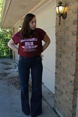 Outfit - Twenty8Twelve jeans, cropped Summerheights High t-shirt