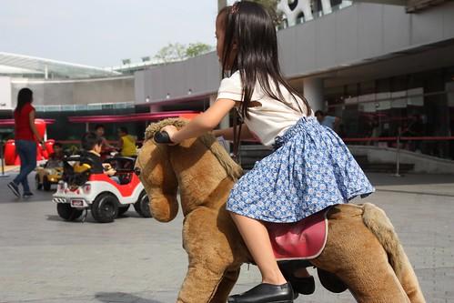 horse-riding... kinda