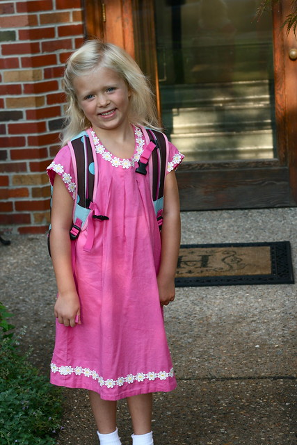 heh first day of Kindergarten