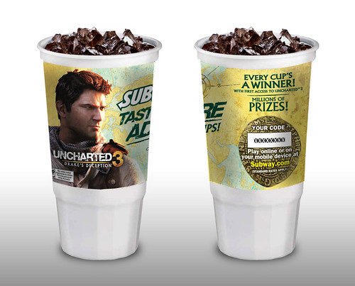 UNCHARTED 3: Taste Adventure Subway Cups