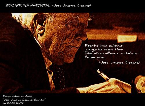 ESCRITURA INMORTAL. (José Jiménez Lozano) by marioadaja