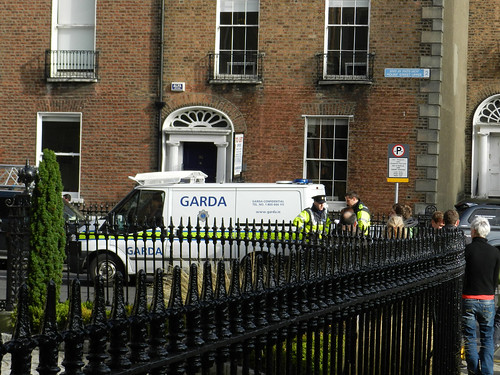 Gardaí & arrested paparazzo