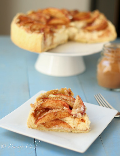 Apple Cheesecake Slice