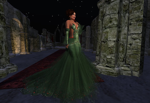 **TWA** Poison Ivy Gown Set by Cherokeeh Asteria