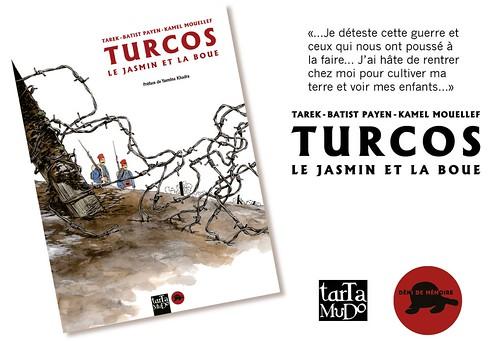 Turcos // en librairie à partir du 13 septembre by Pegasus & Co