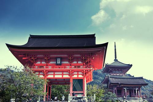 [フリー画像素材] 建築物・町並み, 宗教施設, 寺院・お寺, 風景 - 日本 ID:201110140800