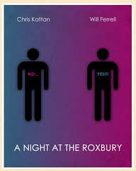 A Night at the Roxbury (1998) (Jon Glanville) Tags: saturdaynightlive willferrell chriskattan whatislove haddaway anightattheroxbury minimalistfilmposter dougbutabi stevebutabi butabibrothers
