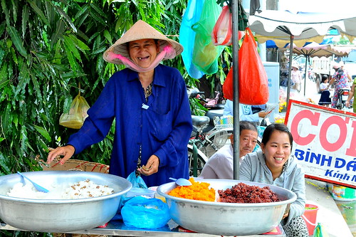 Xoi Vendor - District 4 - Ho Chi Minh City
