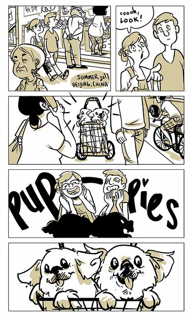 Puppies! comic 1