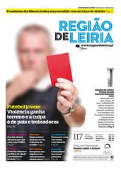 Capa Regiao de Leiria edição 3891 de 14 Outubro 2011